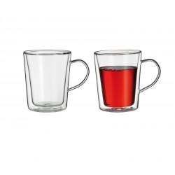 Набор чашек, стекло